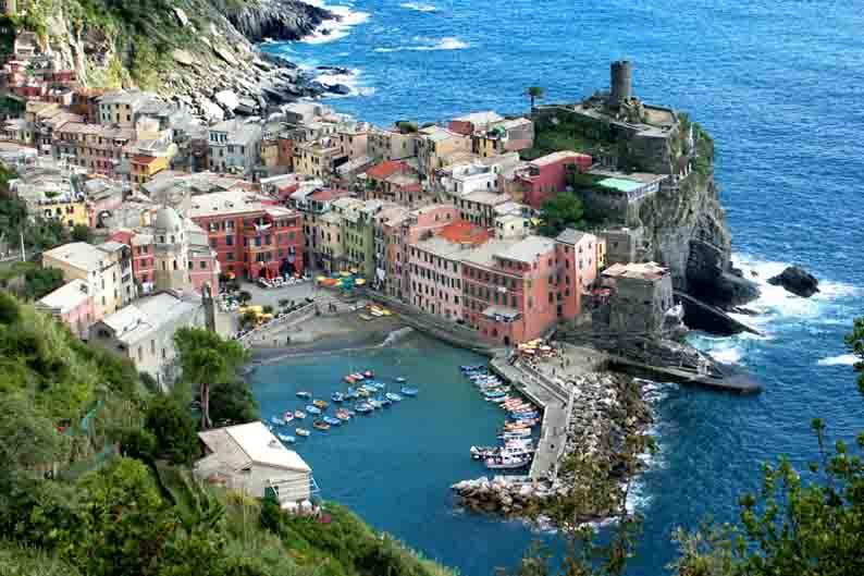 «Пять земель» Италии