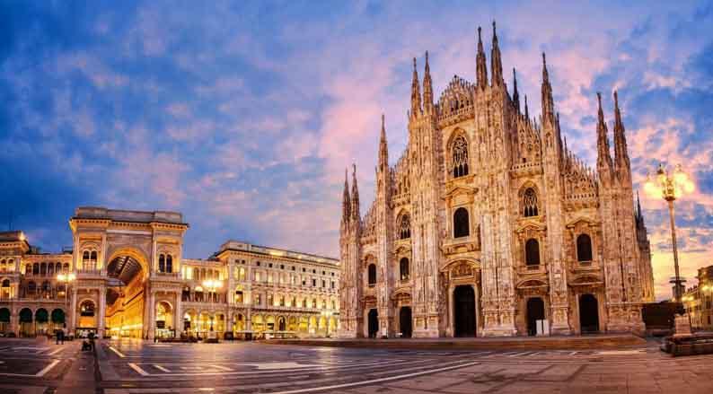 Северная Италия - Милан